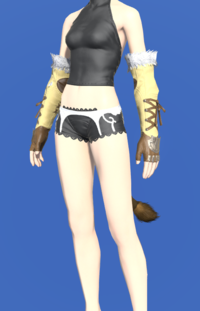 Model-Tigerskin Fingerless Gloves of Gathering-Female-Miqote.png