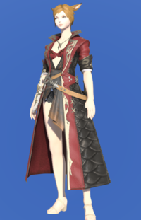 Model-Griffin Leather Coat of Striking-Female-Miqote.png