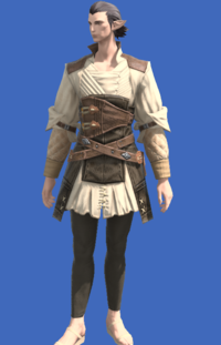 Model-Aesthete's Doublet of Crafting-Male-Elezen.png