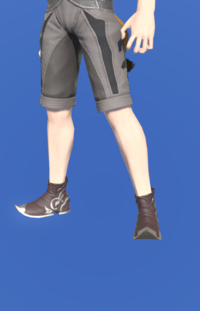 Model-Marid Leather Babouches of Gathering-Male-Miqote.png