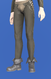Model-Forager's Shoes-Male-Elezen.png