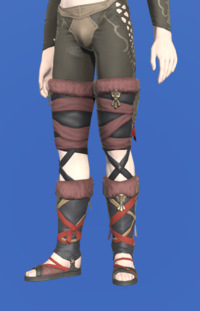 Model-Ala Mhigan Sandals of Scouting-Male-Elezen.png