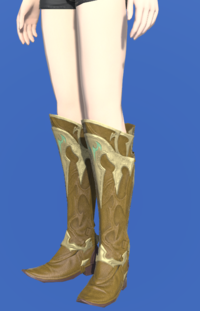 Model-Dragonskin Boots of Healing-Female-Hyur.png