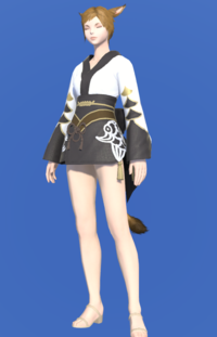 Model-Lady's Yukata (Black)-Female-Miqote.png