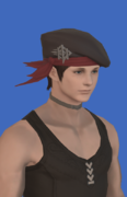 Model-Replica Sky Pirate's Beret of Aiming-Male-Hyur.png