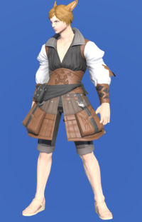 Model-Ramie Doublet of Crafting-Male-Miqote.png