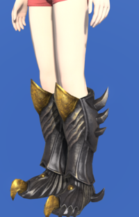 Model-Tarnished Feet of Pressing Darkness-Female-Hyur.png