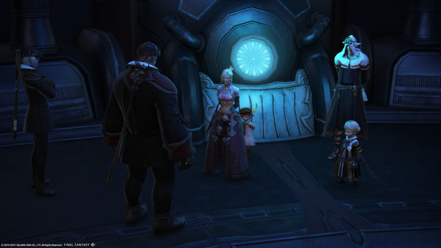 The captured Scions in Castrum Centri