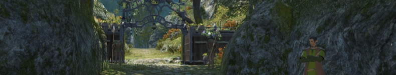 Yellow Serpent Gate Gridania Banner.png