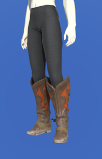 Model-Gyuki Leather Boots of Gathering-Female-Roe.png