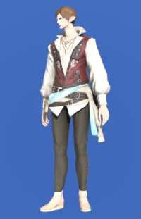 Model-Shirt of the Divine Light-Male-Elezen.png