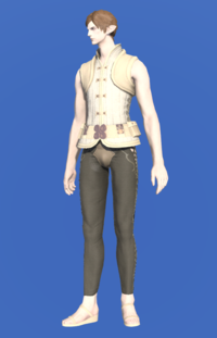 Model-Amateur's Doublet Vest-Male-Elezen.png