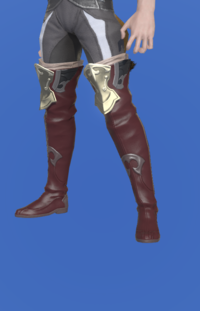Model-Saurian Boots of Striking-Male-Miqote.png