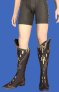 Model-Replica High Allagan Boots of Aiming-Male-Hyur.png