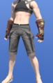 Model-Ala Mhigan Fingerless Gloves of Scouting-Male-Miqote.png