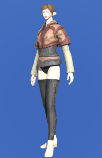 Model-Toadskin Jerkin-Female-Elezen.png