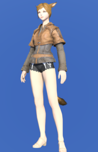 Model-Weathered Jerkin (Brown)-Female-Miqote.png