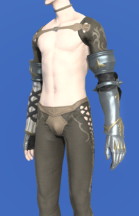 Model-Prototype Gordian Armguards of Scouting-Male-Elezen.png