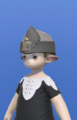 Model-Linen Wedge Cap of Gathering-Male-Lalafell.png