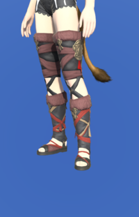 Model-Ala Mhigan Sandals of Scouting-Female-Miqote.png