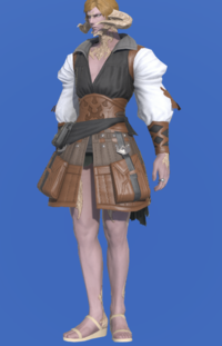 Model-Ramie Doublet of Crafting-Male-AuRa.png