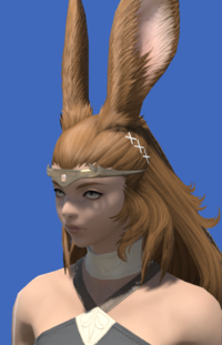 Model-Aetherial Electrum Circlet (Amber)-Female-Viera.png