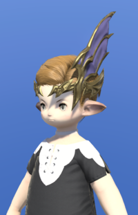 Model-Dreadwyrm Circlet of Striking-Male-Lalafell.png