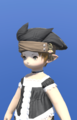 Model-Chimerical Felt Turban of Crafting-Female-Lalafell.png