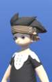 Model-Chimerical Felt Turban of Crafting-Male-Lalafell.png