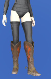 Model-Gyuki Leather Boots of Gathering-Female-Elezen.png