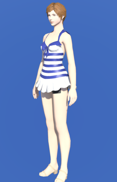 Model-Striped Southern Seas Swimsuit-Female-Hyur.png