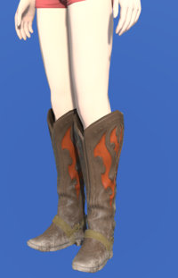 Model-Gyuki Leather Boots of Gathering-Female-Hyur.png