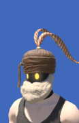 Model-Ovim Wool Turban of Crafting-Male-Hyur.png