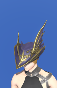 Model-Replica Dreadwyrm Chapeau of Aiming-Male-Miqote.png