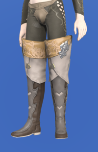 Model-Antiquated Gunner's Thighboots-Male-Elezen.png