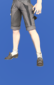 Model-Scuffed Manderville Gaiters-Male-Miqote.png