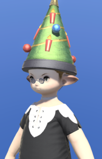 Model-Starlight Sugarloaf Hat-Male-Lalafell.png