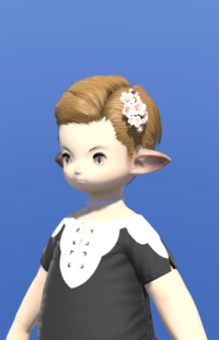 Model-Pink Cherry Blossom Corsage-Male-Lalafell.png