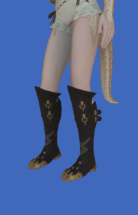 Model-Replica Sky Pirate's Boots of Fending-Female-AuRa.png
