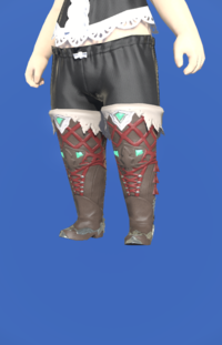 Model-Slothskin Boots of Healing-Female-Lalafell.png