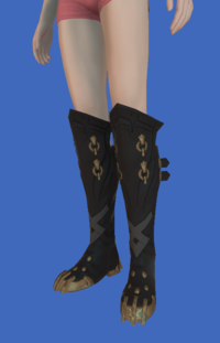 Model-Replica Sky Pirate's Boots of Fending-Female-Hyur.png