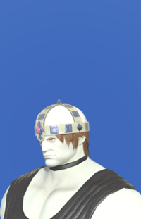 Model-Aetherial Raptorskin Pot Helm-Male-Roe.png