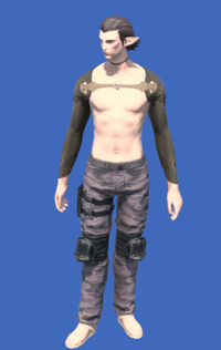 Model-Obsolete Android's Trousers of Scouting-Male-Elezen.png