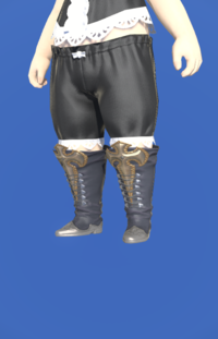 Model-Diamond Boots of Striking-Female-Lalafell.png