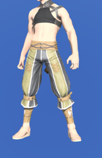 Model-Holy Rainbow Sarouel of Striking-Male-Miqote.png