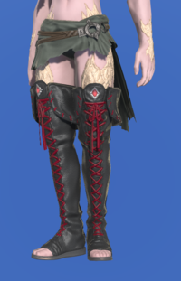 Model-Ghost Barque Open-toed Boots of Scouting-Male-AuRa.png