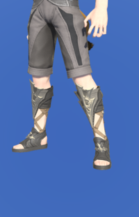 Model-Thaliak's Sandals of Healing-Male-Miqote.png