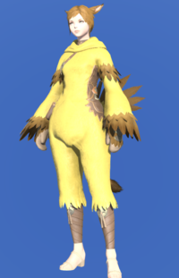 Model-Chocobo Suit-Female-Miqote.png