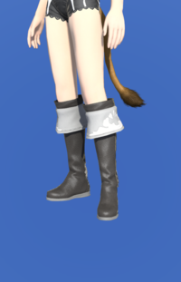 Model-Kirimu Boots of Healing-Female-Miqote.png