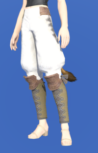 Model-Woolen Sarouel of Gathering-Female-Miqote.png